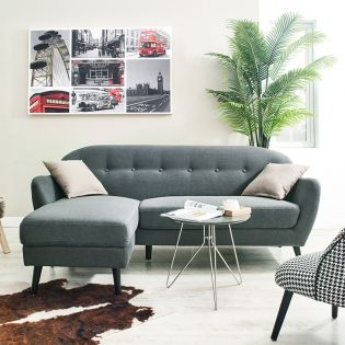 Palma  Sofa w/ Chaise (LAF Only)