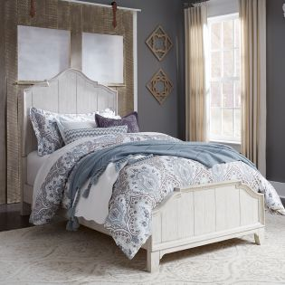 652-BR  Twin Panel Bed
